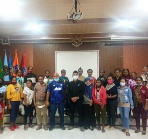 SEKDA Tambrauw Kunjungi Mahasiswa PG PAUD FKIP Asal Tambrauw